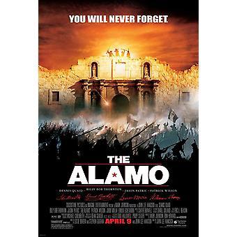 The Alamo (Double Sided Regular Uv Coated) (2004) Original Kino poster