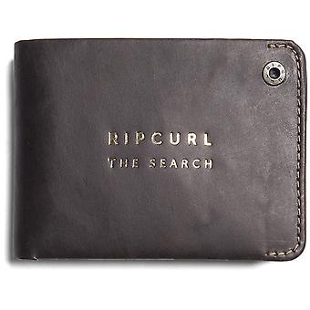 Rip Curl Supply RFID All Day Leather Wallet in Brown