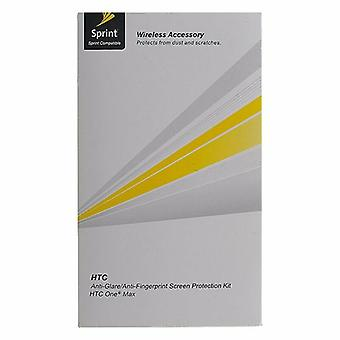 Sprint Anti-Glare Screen Protector with Cleaning Cloth for HTC One Max - Clear