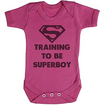 Training To Be Super Boy - Baby Bodysuit