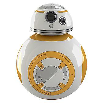 Star Wars ouvre-bouteille 2D BB-8 avec aimant blanc /orange, magnétique, dans l'emballage blister.