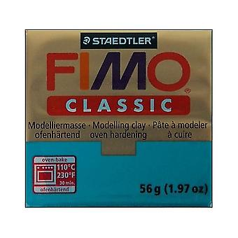 FIMO Classic Modelling Compound, Turquoise