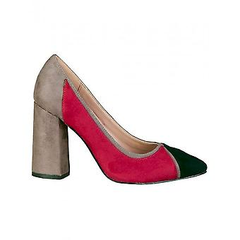 Fontana 2.0 - Shoes - High Heels - VALERIA_BLU-BORDEAUX - Women - midnightblue,darkred - 40