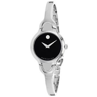 Movado Mujeres's Kara Reloj de marcado negro - 605247