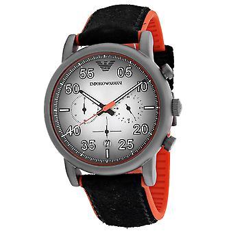 Armani Men-apos;s Classic Silver Dial Watch - AR11174