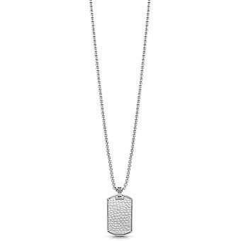 Guess Men Stainless Steel Pendant Necklace UMN29004