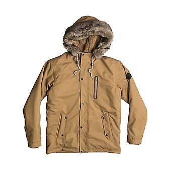 Quiksilver Arris Parka Jacket in Dull Gold