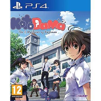 Kotodama The 7 Mysteries of Fujisawa PS4 Game