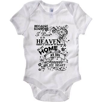 Body neonato bianco gen0776 son heaven in my home black