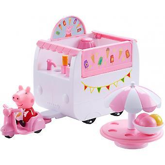 Peppa Pig/Greta pig-ice cream car-set