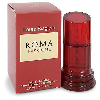 Roma Passione Eau De Toilette Spray By Laura Biagiotti   545141 50 ml
