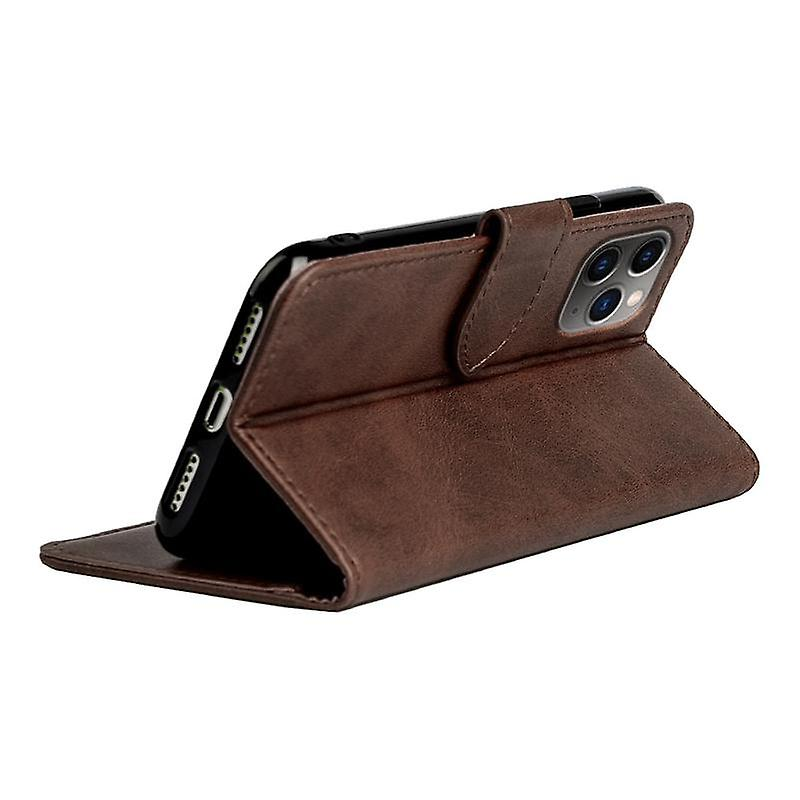 CaseGate phone case for Apple iPhone 11 Max case cover - in brown - lock, stand function and card compartment