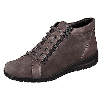 Solidus Kate Vulcano Anthrazit Sportvelour Efeso 2900720160 universal winter women shoes
