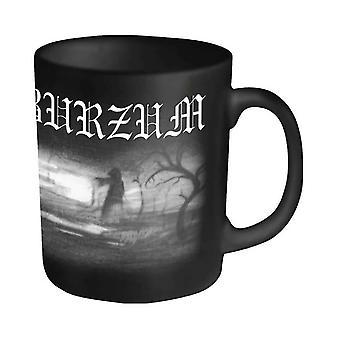 Burzum Mug Aske band logo Official New Black Boxed