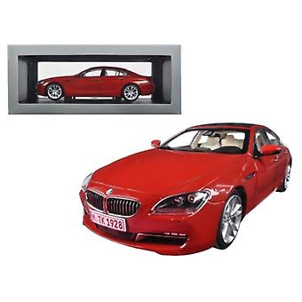 BMW 650i Gran Coupé 6 Series F06 Melbourne Red 1/18 Diecast Model Car par Paragon