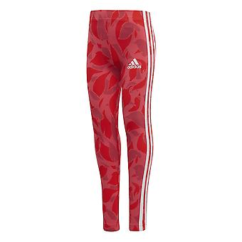 Adidas Little Girls Cotton Tight Pink