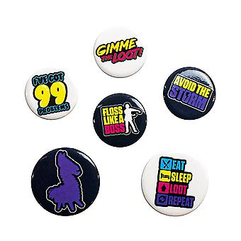 Battle Royale, 6x Pins