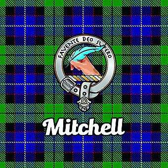 Art2Glass Tartan Clan Coaster - Mitchell