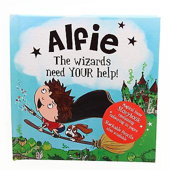 History & Heraldry Magical Name Storybook - Alfie