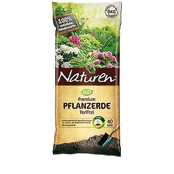 SUBSTRAL® Natuurlijke ® organische premiegrond veenvrij, 40 liter