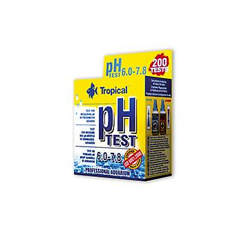 Tropical Test Ph 6.0 To 7.8 (Fish , Maintenance , pH & Other Substance Test Strips)