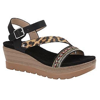 Cipriata Womens/Ladies Cinzia High Wedge Sandals