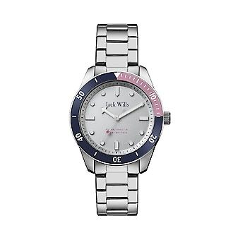 Jack Wills Watches Jw021whsl Silver Stainless Steel Ladies Watch