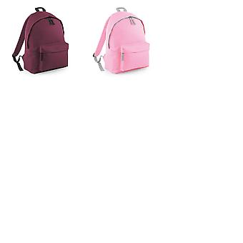 Beechfield Childrens Junior Fashion Backpack Bags / Rucksack / School (Pack of 2)