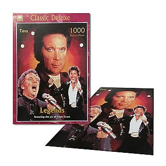 Legends - tom jones - 1000 piece collector jigsaw puzzle