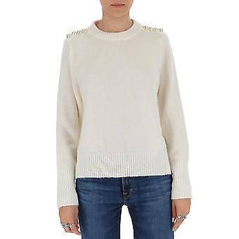 3.1 Phillip Lim 7232lvlan110 Chemise en laine blanche
