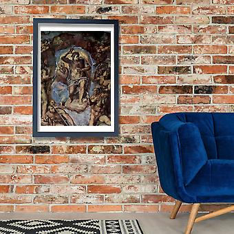 Michelangelo - Sistine Chapel Centre Poster Print Giclee