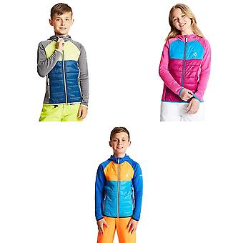Dare2b Enfants / Enfants Infmy Hybride Insulated Hooded Stretch Midlayer