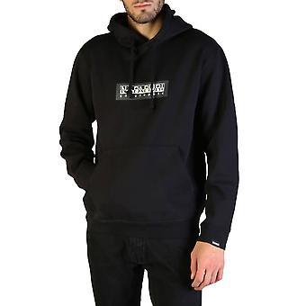 Napapijri Original Men Fall/Winter Sweatshirt - Black Color 35878