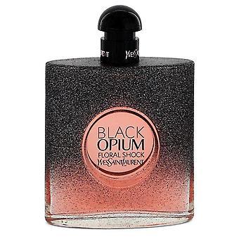 Schwarzen Opium Floral Schock Eau De Parfum Spray (Tester) von Yves Saint Laurent 3 oz Eau De Parfum Spray