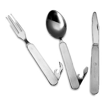 Lifeventure Stainless Steel Folding Cutlery -