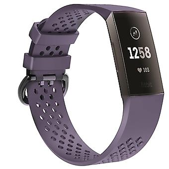 Fitbit Charge 3 bracelet with holes