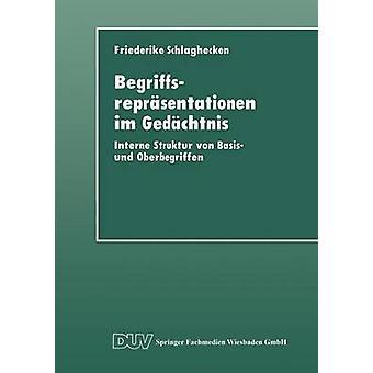 Begriffsreprsentationen im Gedchtnis  Interne Struktur von Basis und Oberbegriffen by Schlaghecken & Friederike