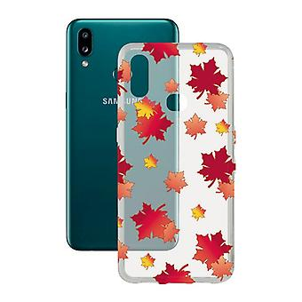 Mobiele cover Samsung Galaxy A10s Contact Flex TPU Herfst