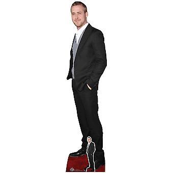 Ryan Gosling Black Suit Lifesize Cardboard Cutout / Standee