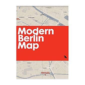 Modern Berlin Map by Matthew Tempest - 9781912018000 Book