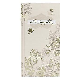 Hallmark With Sympathy Gold Floral & Doves Bereavement Card 11474391