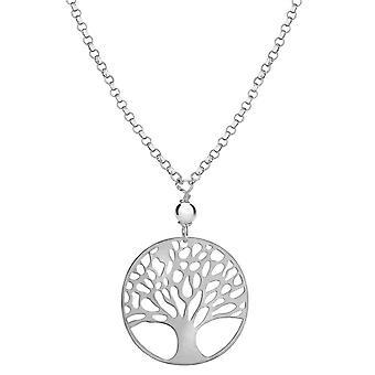 KJ Beckett livets träd halsband - Silver