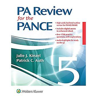 PA Review for the PANCE by Julie Kinzel - 9781496384188 Book