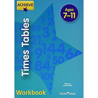 Achieve Times Tables by Louise Martine - 9781510452534 Book