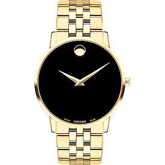 Movado - Polshorloge - Mannen - 0607203 - MUSEUMKLASSIEKER - Quartz Horloge