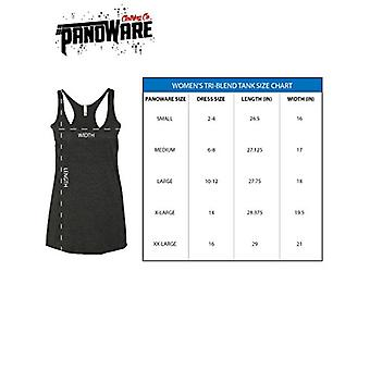 Panoware Women's Funny Racerback Tank Top   Strong AF, Heather Grey, X-Large