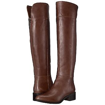Franco Sarto Womens Daya Leather Almond Toe Knee High Fashion Boots