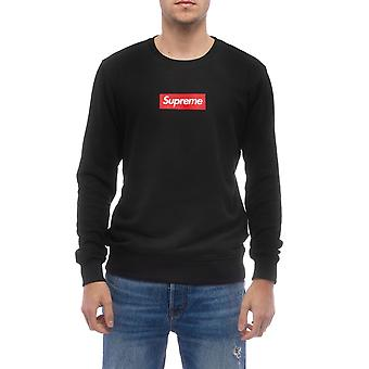 Zwarte Sweatshirt Supreme Grip Heren