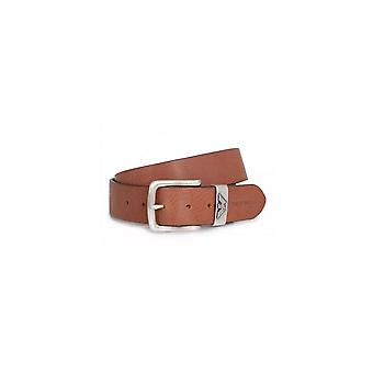 Emporio Armani Leather Brown Belt