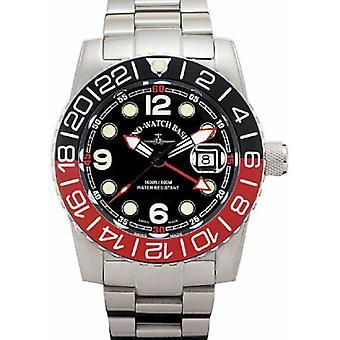 Zeno-Watch - Wristwatch - Men - Airplane Diver 6349Q-GMT-a1-7M